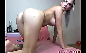 amazing exgf touches her pussy and vagina in private video