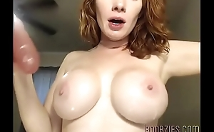 a sex crazed submissive ex wife gets horny on camera