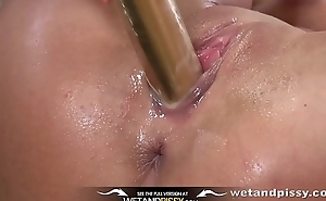 Wetandpissy - Spanish beauty covered in piss