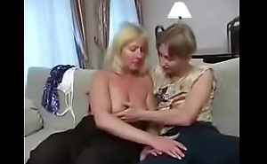 HOT Czech mature woman with boy