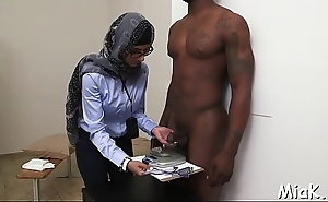 Deepthroat arab blow job session